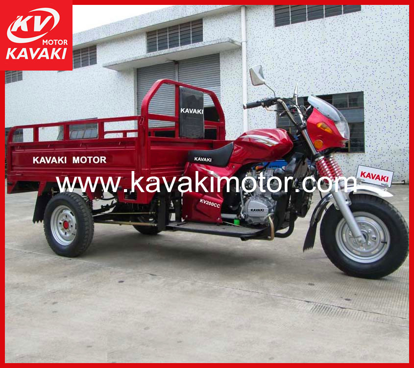 Latest Design 4 Stroke 3 Wheel Motorcycle 200CC For Sale
