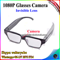 Factory New Invisible Lens 1080P Full HD Eyeware Glasses Camera Clear Glasses Camera V15