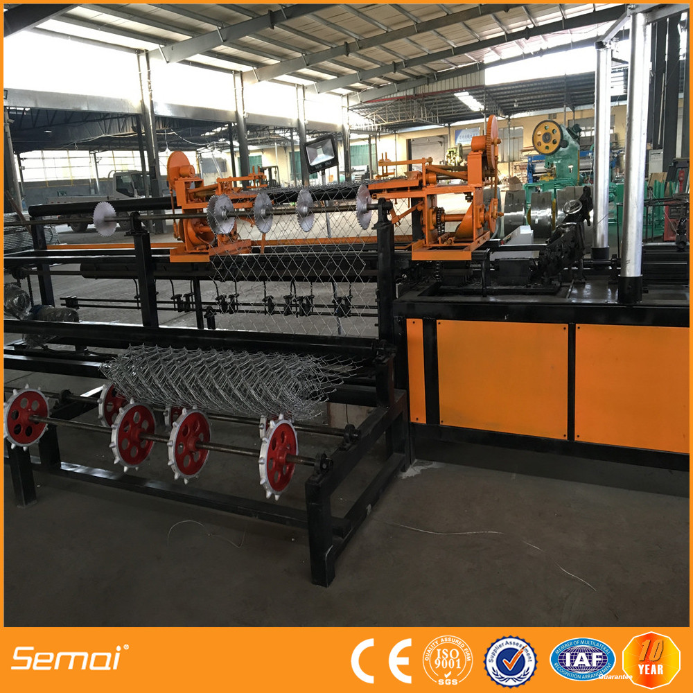 Fully automatic chain link fence making machine price