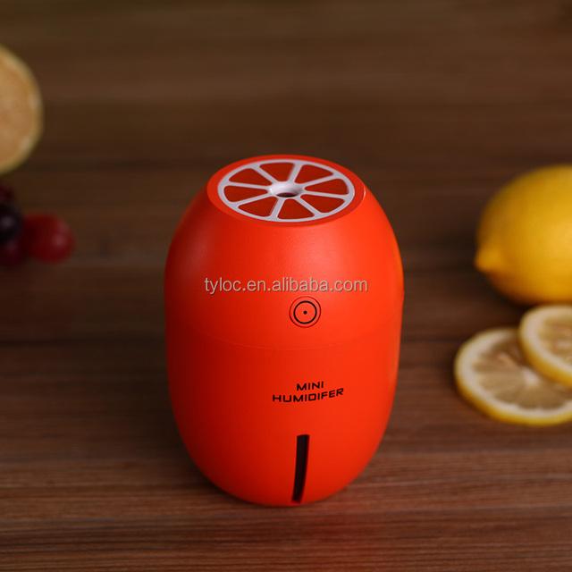 Mini USB Lemon Cooler Mist Air Humidifier Cleaner Portable