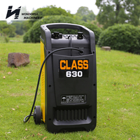 Factory best price 12 volt 24v portable starting auto car battery charger with cable
