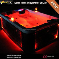 CE deluxe family bath hot tub with sex massage japanese tube video