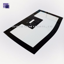 4MM gas oven door glass for tempered glass with silk screen printed glass