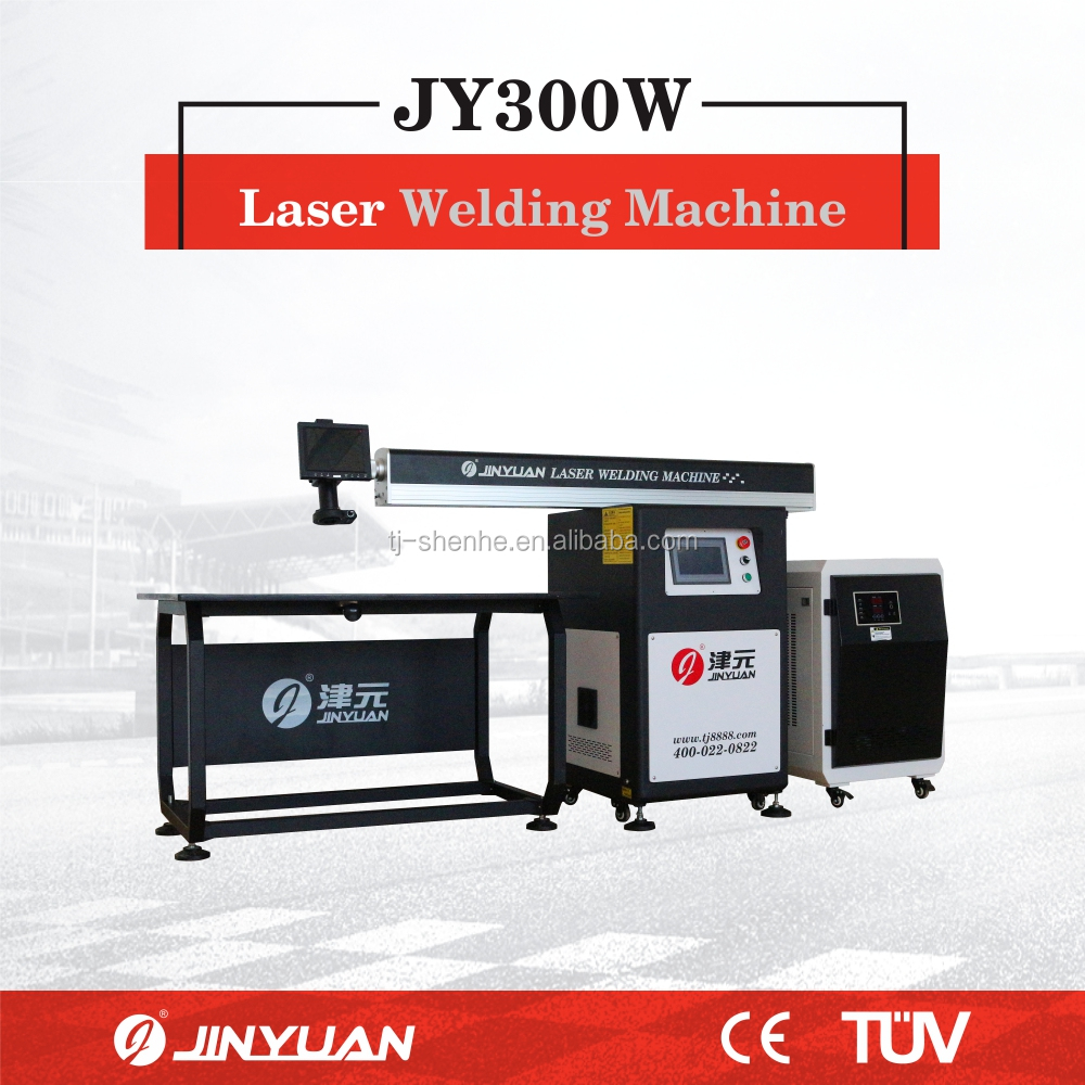 JY300W stainless steel 3D advertising sign letter Laser Welding Machine