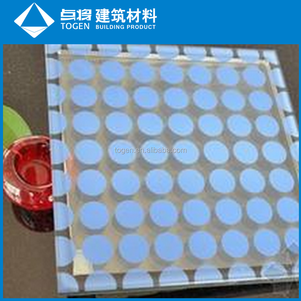 Decorative Ceramic Printing Glass Enamel Glass