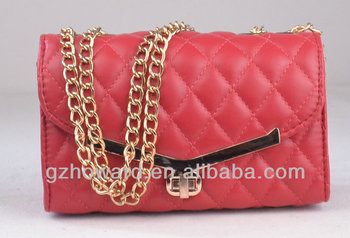 Evening clutch lady bags pu leather handbag hot sale in south america