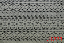 Complex Polyester/Cotton Jacquard Mesh Lace Fabric for Fashionable Women's Clothes