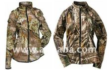 WOMENS CAMO HUNTING JACKET