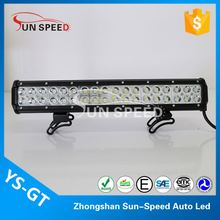 Most reliable 108w tractor led light bar, 12v off road led light bar durable car accessories