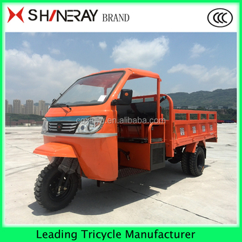 Shineray 3 Wheel Heavy Duty Tricycle Transport Motorcycle with Cabin