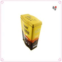 Alibaba China supplier special size tea package metal tin boxes