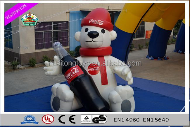 2016 giant activity inflatable cartoon characters for advertisement.