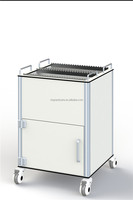 Medical Records Trolley With Patient Records Files Holder