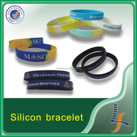 wristbands silicone bracelet silicone, silicon bracelet from china