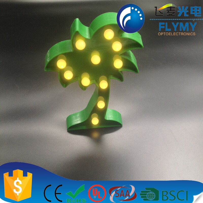 2018 Best Selling Coconut Tree Marquee Light For Indoor Decoration