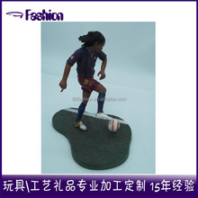 Model toy,PVC Material 3d custom football player action figure