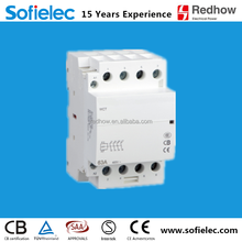 free sample 4 pole 63amp electric contactor for house use