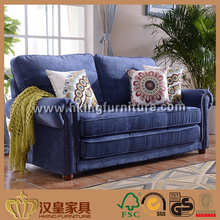Cheap Multi-purpose Modern European Style 3 Seater Fabric Sofa Bed