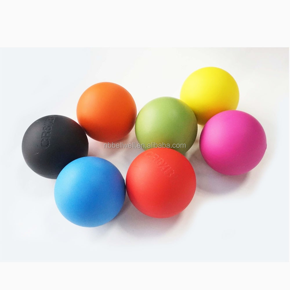 High Density Lacrosse Massage Ball Hockey Ball with Ncaa Sport Approved