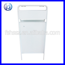customized poster stand design public notice board H2