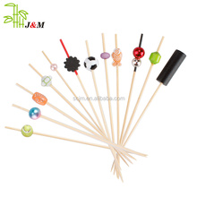 2018hot sale Top Quality Bamboo Knotted Skewers/bamboo stick for bbq bamboo fruit sticks/skewer/picks for sale from JIMAO
