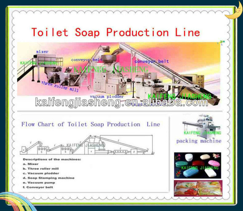 Toilet Soap Production Line,Toilet Soap Finishing Line, Soap Manufacturing Plant,500KG/H