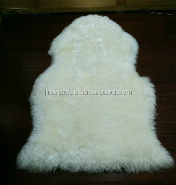 Soft Long Lambswool Sheepskin Seat Cushion for Chair