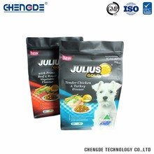 Laminated Material Supermarket Eco-Friendly Custom Logo Packaging Dog Food
