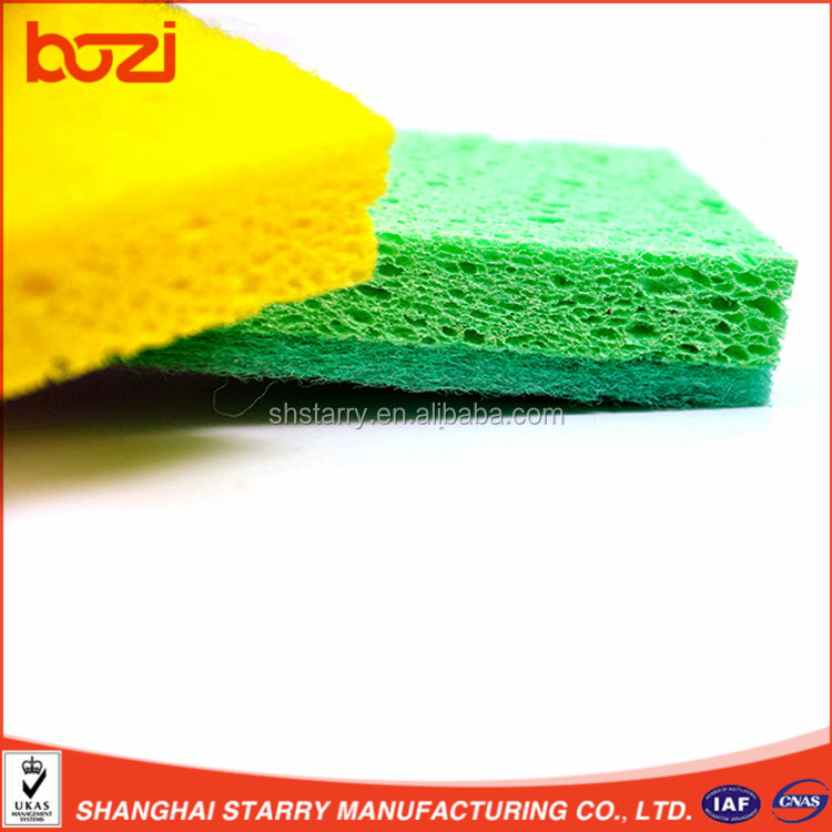 Kitchen Commercial Best-Sale Kitchen Cellulose Sponge For Cleaning