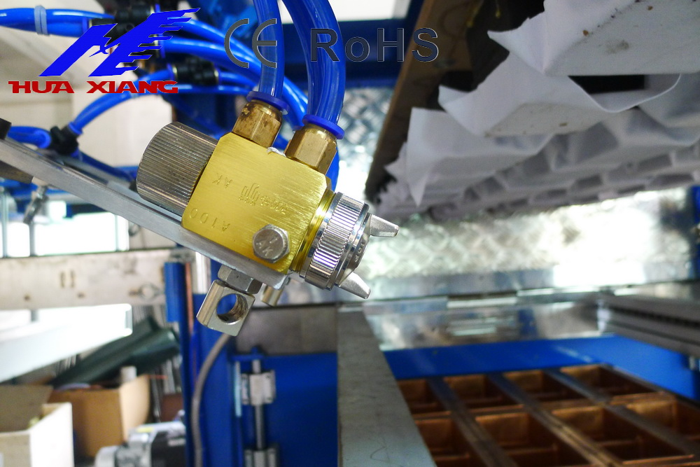 Japanese Meiji automatic spray gun for vacuum forming machine