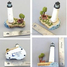 Game Figurine, Light House Resin Temple, Polyresin Building Model
