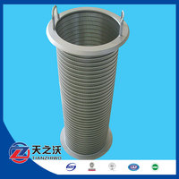 Type Johnson Sand filtering wedge wire screen stainless steel for clarifying