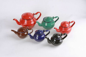 Enamel tea pot P2311