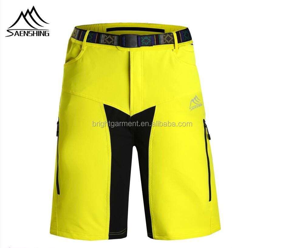 2016 cycling shorts men breathable mountain bike MTB shorts with belt outdoor quick drying cycling clothing