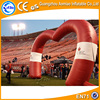 Heart shape inflatable entrance arch, inflatable archway, inflatable gate door