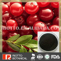100% nature cranberry extract powder Proanthocyanidins and Anthocyanidins