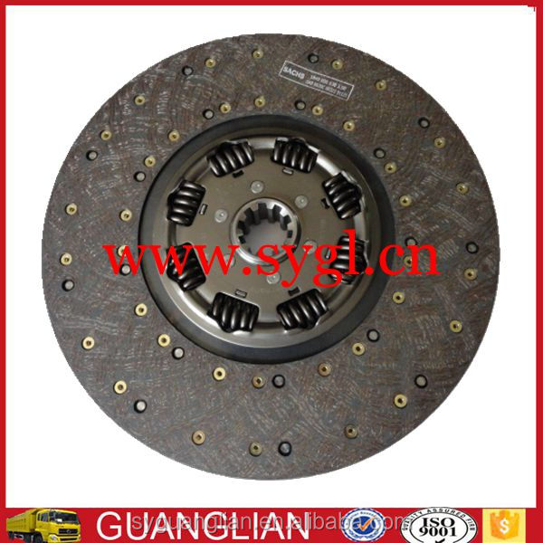 Dongfeng Renault DCi11 truck clutch disc 1601130-ZB601