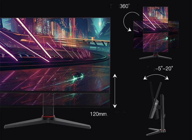144hz 24 Inch lcd High quality 2k gaming monitor
