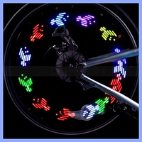 30 Patterns Bicycle Motorcycle Wheel Valve 7 LED 5050 SMD Spoke Flash Light