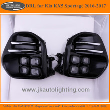 High Quality Car Specific LED Daytime Running Light for Kia KX5 Sportage Best Selling LED DRL for Kia KX5 Sportage 2016