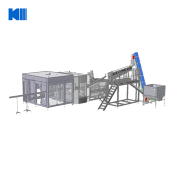 Filling Line pure/mineral drinking water combi block machine