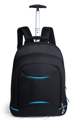 Brand Designer Men High Quality Waterproof Trolley Travel Bag Wheeled laptop Backpack Rolling Duffel Bag Business Computer Bag