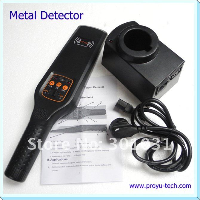 Security Protection Hand held Metal Detectors with high sensitivity GP-140