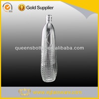 Glass liquor bottles for spanish liquor importers