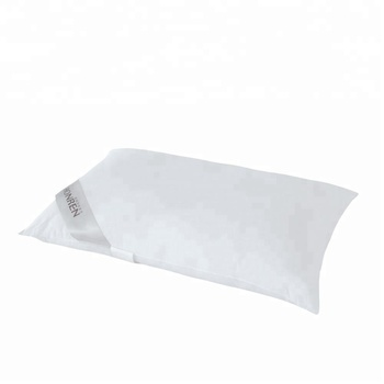 Down Feather Pillows for Sleeping with 100% Cotton Cover