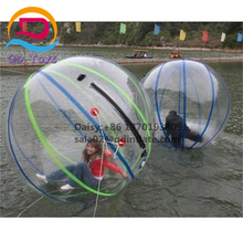 Hot Sale Clear human size inflatable water rolling ball floating water walking ball for pool inflatable character balloons