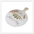 High quality unbreakable round melamine chopping boards