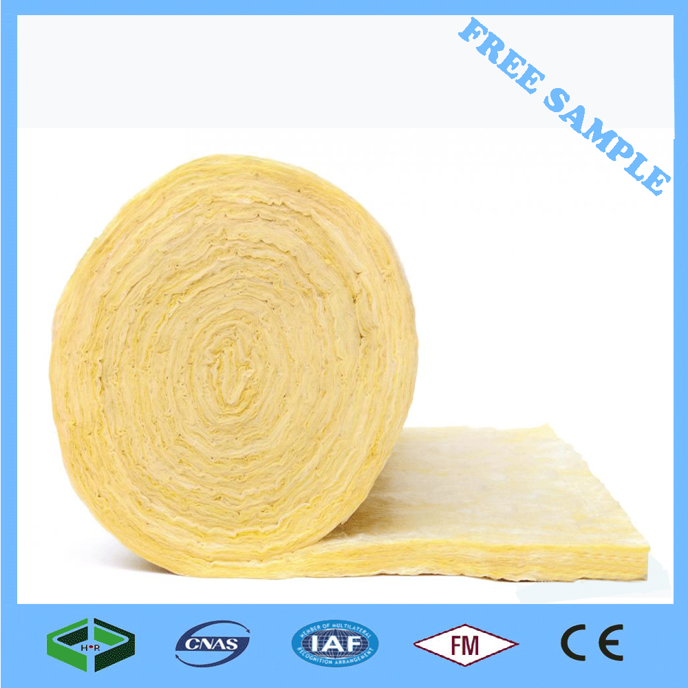 Other Heat Insulation Materials Type 32kg/m3 glass wool Insulation blanket For House