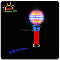 Led Flashing Spinning Ball,Magic flashing ball,Lighted Giant Magic Spinner Wands