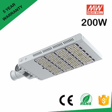 Meanwell high cost performance 200W led street light with 130lm/w